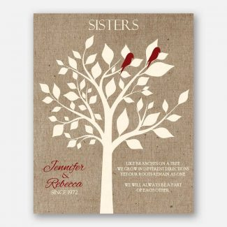 Sister Like Branches on A Tree