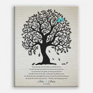 Mother of Groom Bendy Black Tree