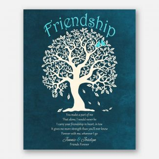 Friendship Poem Friends Forever Family Tree