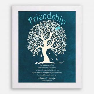 Friendship Poem Friends Forever Family Tree