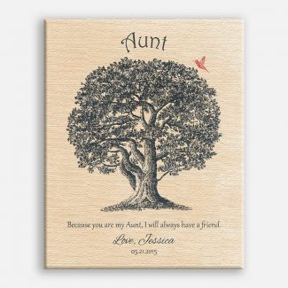 Aunt Oak Tree Hummingbird Because You