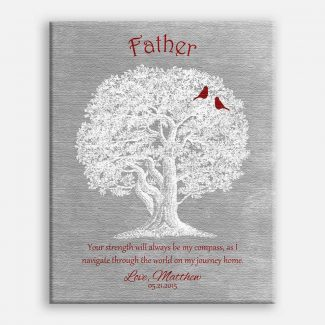Father Oak Tree Your Strength Will