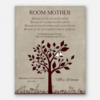 Class Mom Room Mom Teacher Appreciation