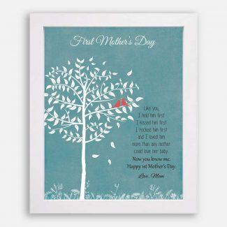 First Mothers Day From Mom or