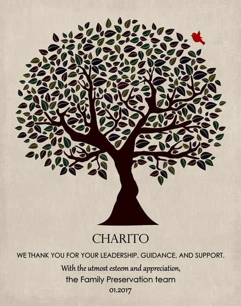 You are currently viewing Mentor Gift from Team Saying Thank You-Personalized for Charito