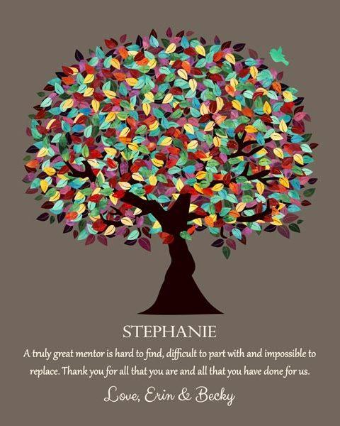 Gift For Boss Gift Gift For Teacher Gift For Mentor- Personalized for Stephanie