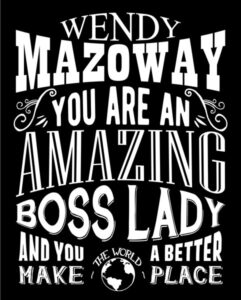 Amazing Tin Sign Gift For Boss Lady Custom Sign Art – Personalized for Kaylie
