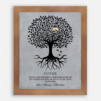Gift For Father Family Tree Roots