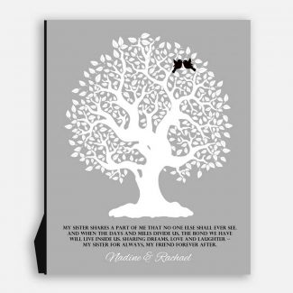 Gift For Sister Family Tree Sister
