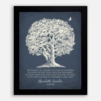 Personalized In Memory of Sympathy Gift,
