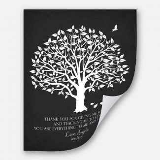 Personalized Thank You Gift For Parents,Roots