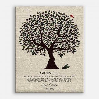 Personalized Gift For Grandpa Olive You
