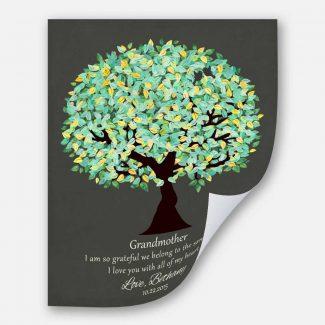 Gift For Grandmother Grandparent Grateful We