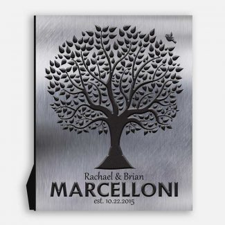 Family Tree Established Date Background DesignFor 10 Year Anniversary Personalied Family Gift #1212