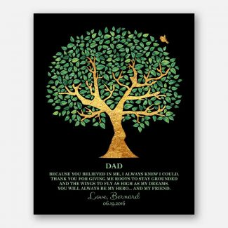 Father Friend Hero Personalized Gift For