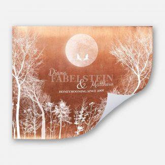 Full Moon Honeymoon Keepsake 7 Year