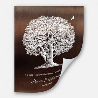 10 Year Anniversary Gift Aluminum Tin
