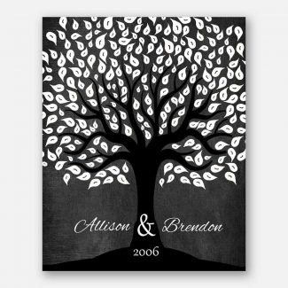 Anniversary Gift For Couple Black White