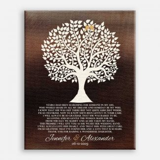 Mother of Bride Gift For Parents