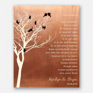 Tree of Cats Personalized Corinthians Love