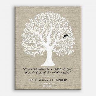 Personalized Gift For Godson Baptism Communion