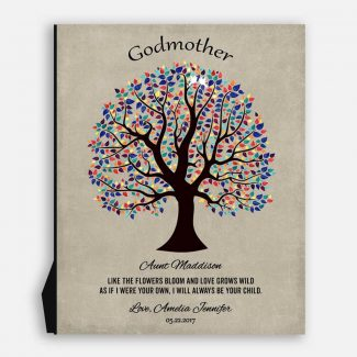 Personalized Gift For Godparent Godmother Godfather