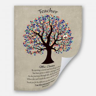 Personalized Gift For Teacher Appreciation Gift