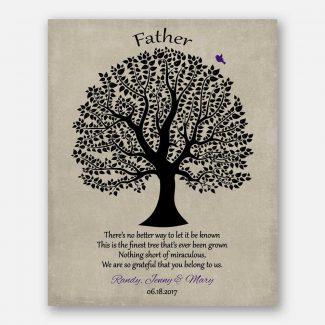 Personalized Gift For Dad Father's Day