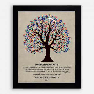 Personalized Gift For Pastor Baptism Communion