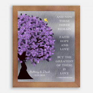 10 Year Anniversary Corinthians 13:13 Background