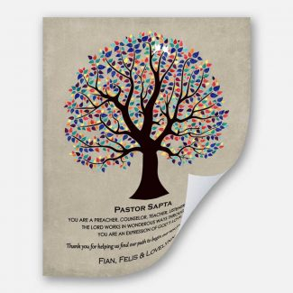 Personalized Pastor Gift Bible Verse 6:10
