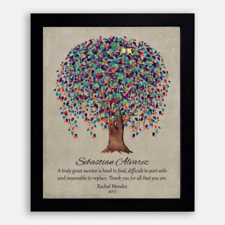 Truly Great Mentor, Personalized Gift For