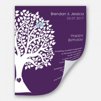March Birthday Love Poem Personalized Happy