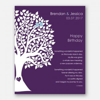 March Birthday Love Poem Personalized Happy
