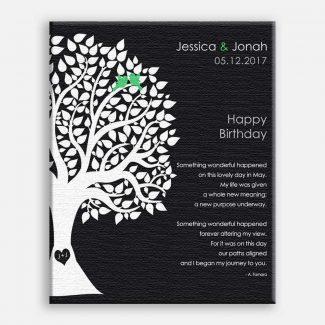 May Birthday Love Poem Personalized Happy