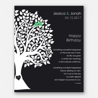 May Birthday Love Poem Personalized Happy