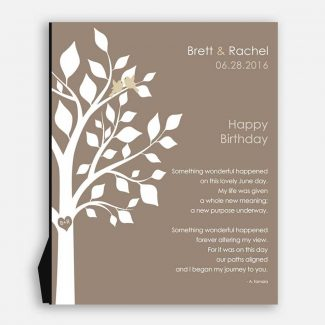 June Birthday Love Poem Personalized Happy