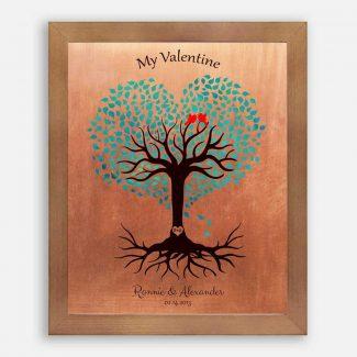 7 Year Anniversary, Valentine, Copper Anniversary,