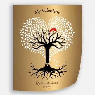 8 Year Anniversary, Valentine, Brass Anniversary,