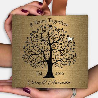 8th Anniversary Gift, 8 Year Anniversary,