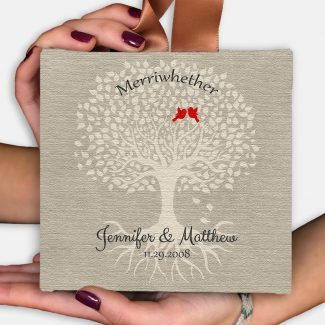 10th Anniversary Gift, Wedding Keepsake, Hanging