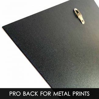 Pro Backing Options For Metal Prints