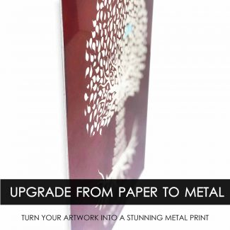 Upgrade Paper Print to Metal Print