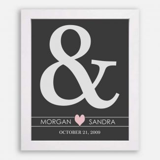 Ampersand Husband And Wife