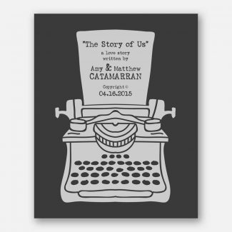 The Story Of Us Vintage Type