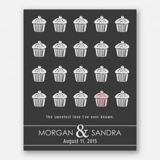 The Sweetest Love Cupcakes Couple Gift
