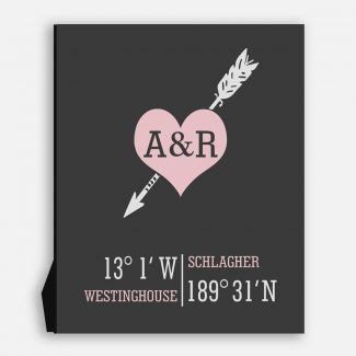 Arrow Through Heart Ampersand Coordinates