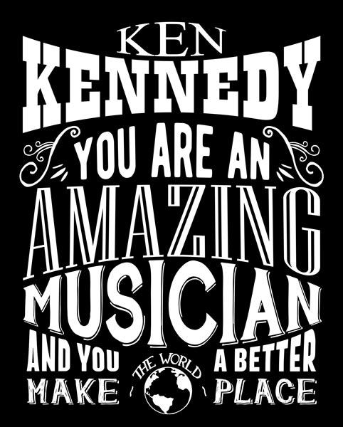 Gift For Musician – Custom Tin Sign Amazing Musician Custom Art Print – Personalized for Rachel