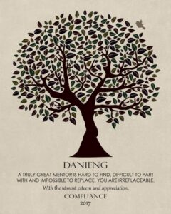 Read more about the article Mentor Gift for Colleague Tree of Life – Personalized for Sandy