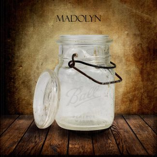 Mason Ball Canning Jar on Wood